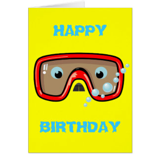 Red Goggles Card