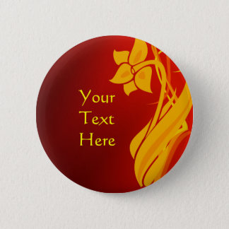 Red & Gold Button