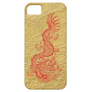 Red Gold Dragon iPhone 5 Case