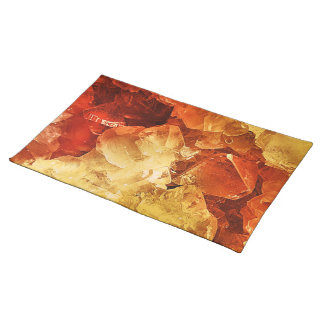 Red & Gold Place Mats
