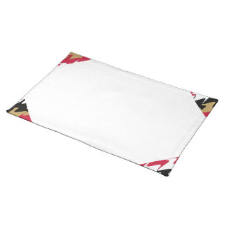 Red & Gold San Francisco Football Home Casino Placemats