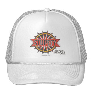 Red & Gold Stupefy Spell Graphic Cap