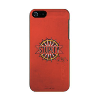 Red & Gold Stupefy Spell Graphic Incipio Feather® Shine iPhone 5 Case