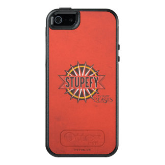 Red & Gold Stupefy Spell Graphic OtterBox iPhone 5/5s/SE Case