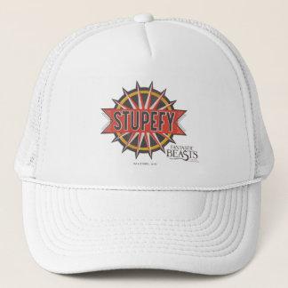 Red & Gold Stupefy Spell Graphic Trucker Hat