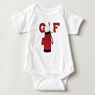 Red Golf Bag Golf T-shirts and Gifts