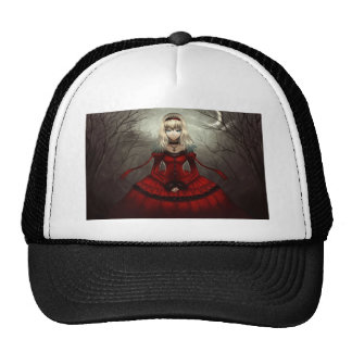 Red Gothic Hats