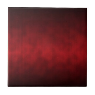 Red Gothic Ombre Background Art Small Square Tile