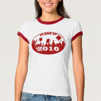 RED Graduation Class of 2009 2010 T-shirt