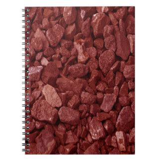 Red Granite Rock Notebook
