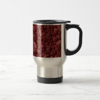 Red Granite Rock Travel Mug