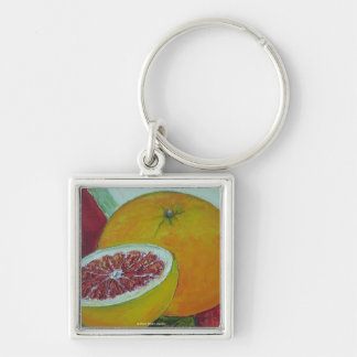 Red Grapefruit Key Chain