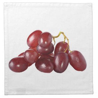 """""""Red grapes"""" design cloth napkins"""