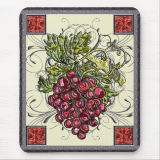 Red Grapes Mousepads