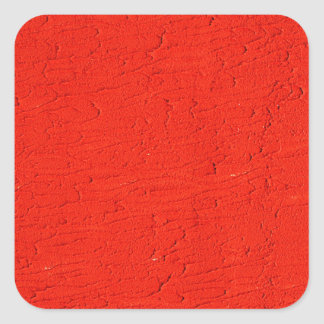 red Graphite Abstract Antique Junk Style Fashion A Square Sticker