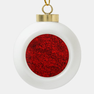 Red Grass Ornaments
