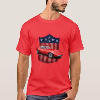 Red great American Shield Pontiac Banshee T-Shirt