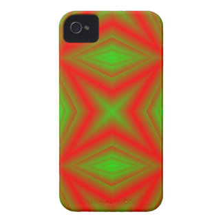 Red Green Abstract Pattern Phone 4 Case-Mate ID Case-Mate iPhone 4 Cases