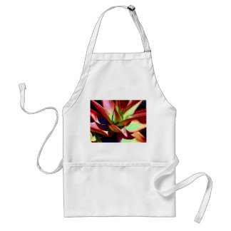 Red & Green Agave Standard Apron