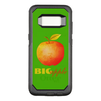 Red Green Big Apple Vibrant Bold Cheerful OtterBox Commuter Samsung Galaxy S8 Case