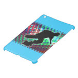 Red Green & Blue Abstract Boxes Skateboard