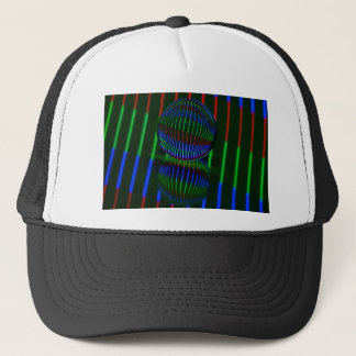 Red,Green, blue in the crystal ball Trucker Hat