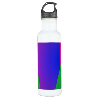 Red Green Blue Vivid Abstract Art 710 Ml Water Bottle