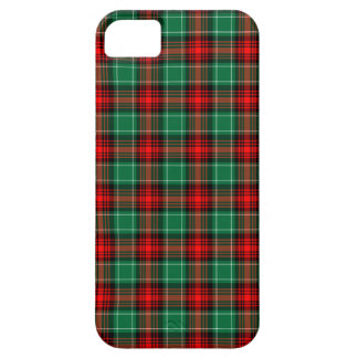Red Green Christmas Plaid Barely There iPhone 5 Case