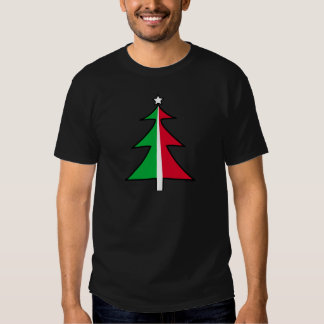 Red Green Christmas Tree T-shirt