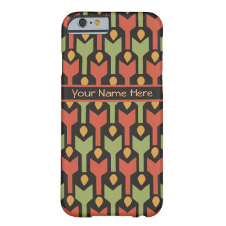 Red Green Custom Tribal Egyptian Arrow Pattern Barely There iPhone 6 Case