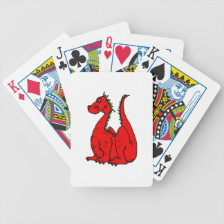 Red Green Dragon png Card Decks