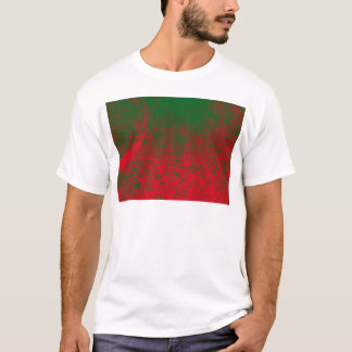 red green elephant T-Shirt