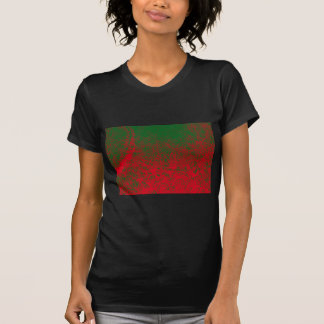red green elephant t shirt