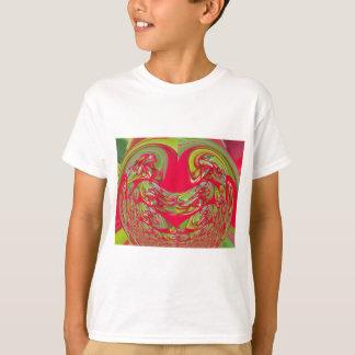 Red & Green Flora Vintage Hakuna Matata Gifts T-Shirt