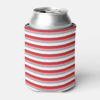 Red, Grey and White Stripes