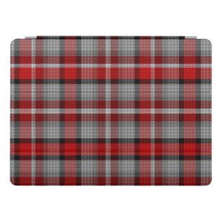Red Grey Black Tartan Plaid iPad Pro Cover