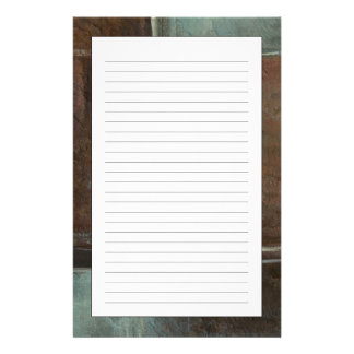 Red & Grey Brick Wall Stationery