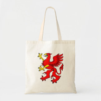 Red Griffin Tote Bag