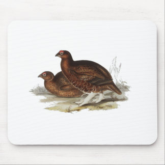 Red Grouse Mouse Pads