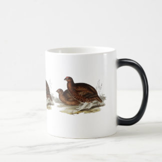 Red Grouse 11 Oz Magic Heat Color-Changing Coffee Mug