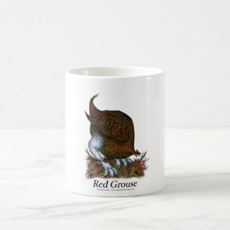 red grouse, tony fernandes mug