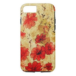 Red Grunge iPhone 7 case
