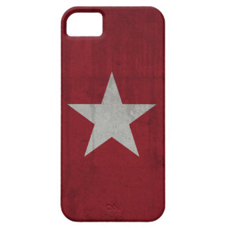 Red Grunge Star iPhone 6 Case iPhone 5 Cover