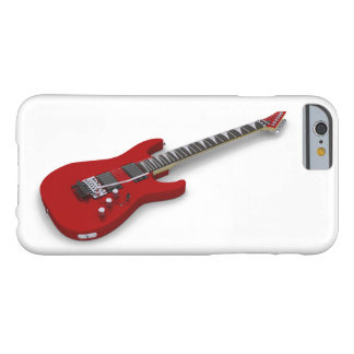 Red guitar barely there iPhone 6 case