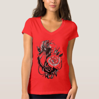 red gypsy womens tee