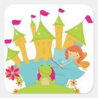 Red Hair Fairy Princess Sticker