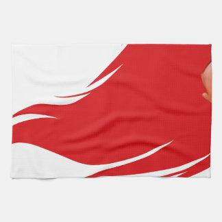 Red Hair Girl Tea Towel