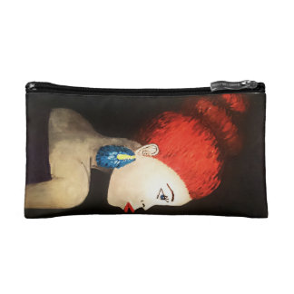 red hair lady bag cosmetics bags