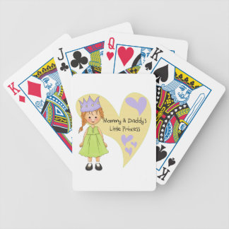 Red Hair Mommy and Daddy's Princess Deck Of Cards