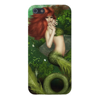 Red Haired Mermaid Cover For iPhone 5/5S